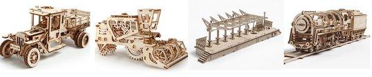 Mechanische-houten-modellen