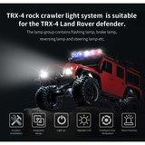 Rc verlichting set 28975 G.T. Power TRX-4 LED Light System for Traxxas Rock Crawler _8