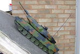 RC tank Leopard 2A5  1:16  shooting 3