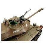 RC tank 1/16 RC M41A3 Walker Bulldog green BB+IR 2.4GHz  met schietfunctie rook en geluid en IR 1116038391_8