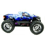 RC auto 1/10 monster truck BUG CRUSHER ELEKTRISCHE RC MONSTER TRUCK RTR - BLAUW IJS RTR_8