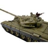 RC tank 1/16 RC T-72 green BB+IR 2.4GHz  met schietfunctie rook en geluid en IR 1116039391_8