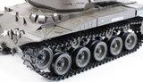 RC tank  M41 A3 Walker bulldog 1:16  met schietfunctie  2.4GHZ en metalen aandrijving BB en IR battle functie V6.0 uitvoering_8
