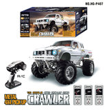 RC auto HG P407 1/10 2.4G 4WD Rc Car for TOYATO Metal 4X4 Pickup Truck Rock Crawler RTR_8