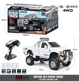 RC auto HG P410 1/10 2.4G 4WD RC Car 3 Speed Pickup Truck Rally-voertuig Rtr_8