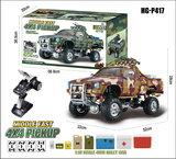 RC auto Hg P417 1/10 2.4G 4WD Rc Auto 4X4 Ep Pickup Voertuigen Rock Crawler Truck Rtr_8