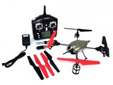 RC Quadcopter WL Toys V959 2.4 GHz 4-kanaals met HD camera_8