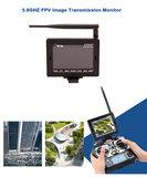RC quadcopter WLtoys V666  FPV 6 Axis RC Quadcopter met HD Camera Monitor2