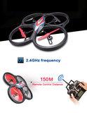 RC quadcopter WLtoys V666  FPV 6 Axis RC Quadcopter met HD Camera Monitor3