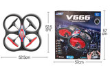 RC quadcopter WLtoys V666  FPV 6 Axis RC Quadcopter met HD Camera Monitor RTF op=op_8