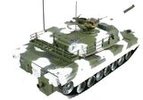 RC tank Abrams M1a1 winter 1:16 shooting3