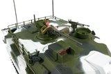 RC tank Abrams M1a1 winter  1:16  shooting_8