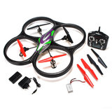 RC quadcopter WLtoys V333 headless  met HD camera RTF2