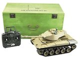 RC tank  M41 A3 HL WALKER BULLDOG 2.4GHZ in houten kist