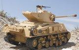 RC tank Tamiya 56032  bouwpakket Super Sherman Full Option Kit 1:162