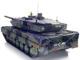 RC tank Tamiya 56020  bouwpakket Leopard 2A6 Full Option Kit 1:162