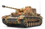 RC tank Tamiya 56026  bouwpakket German Panzerkampfwagen IV Ausf. J Full Option Kit 1:16