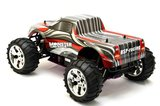 RC auto nitro  HSP Monster Truck  rood  70 km/h 1:10 2.4GHZ_8
