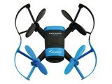 RC drone quadcopter Mini Exlporer blauw FPV 2.4GHZ RTF2