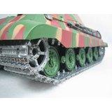 RC tank Torro Kingtiger met porche koepel met rook en geluid_8