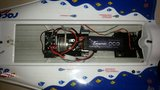 HRI10 RC Speedboot NQD T18  2.4GHz L 105cm Reparatie_8