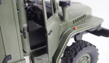RC vrachtwagen Ural B36 leger vrachtwagen 6WD RTR 1:16, leger groen_8