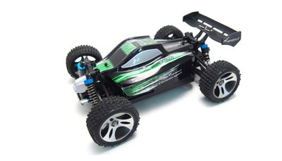 RC Auto 22269 BX18 groen, Buggy 1:18 4WD RTR
