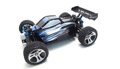 RC Auto 22270 BX18 blauw, Buggy 1:18 4WD RTR