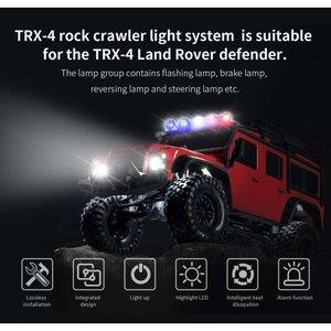 Rc verlichting set 28975 G.T. Power TRX-4 LED Light System for Traxxas Rock Crawler