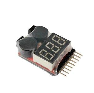 Lipo batterij saver en alarm 8 cel RC Lipo Battery Low Voltage Monitor Alarm Tester Buzzer