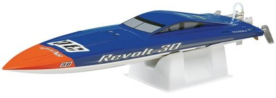 RC speedboot Aquacraft Revolt 30 FE Mono Brushless  blue