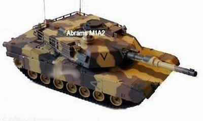 RC tank M1A2 Abrams 1:24 4