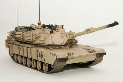 RC tank Abrams desert Hobby Engine premium pro