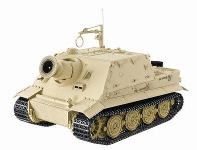 RC tank Sturmtiger 1/16 rook en geluid  6mm BB