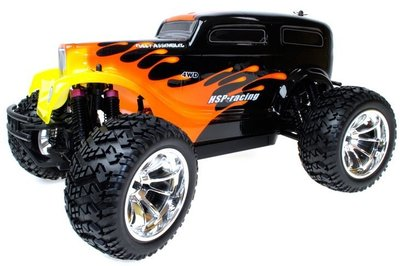 RC auto monster truck HOTROD 1:10 4WD 2.4GHZ