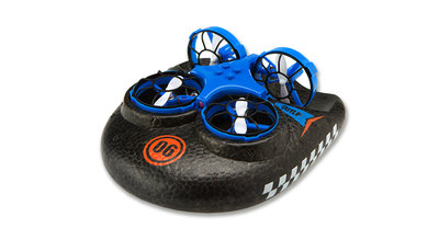 RC drone hovercraft TRIX - 3-IN-1 DROHNE, hovercraft BLAUw of Oranje