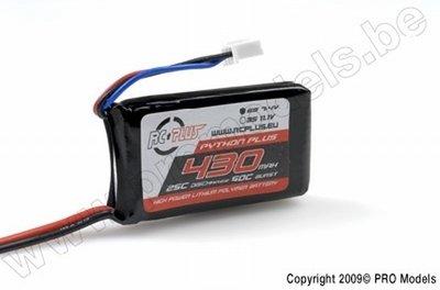 Lipo batterij 7,4V
