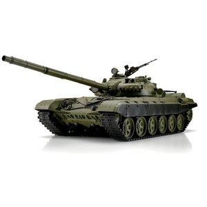 RC tank 1/16 RC T-72 green BB+IR 2.4GHz  met schietfunctie rook en geluid en IR 1116039391