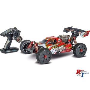 RC auto nitro Carson buggy  204033, 1/8 Virus 4.0, GP V32, RTR