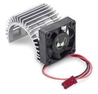 2310022 blue aluminium Heatsink 540 with Fan Version 1 motor koeler