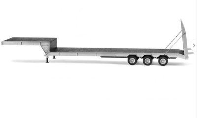 Carson bouwpakket 907000 1:14 3-assige dieplader met oprijplaat