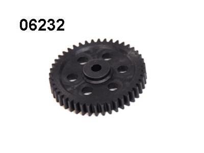 Onderdeel voor radiografische auto part nr 06232 HAUPTZAHNRAD 47 ZÄHNE MODUL 1 voor LEOPARD BUGGY GP 3,0CCM 4WD, 1:10, RTR