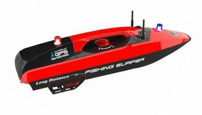 RC voerboot fishing surfer 2,4GHZ RTR 26083 inclusief draagtas en GPS