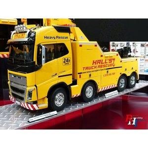 Tamiya bouwpakket 56362 1/14 RC Volvo FH16 Abschlepper 8x4