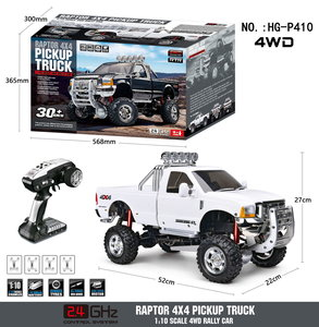 RC auto HG P410 1/10 2.4G 4WD RC Car 3 Speed Pickup Truck Rally-voertuig Rtr