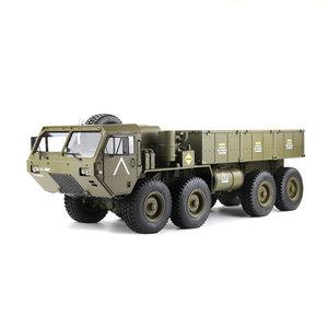 RC auto HG-P801 M983 Licht Geluid Functie Functie 2.4G 8CH 1: 12 8x8 Amerikaanse militaire vrachtwagen RC auto RTR
