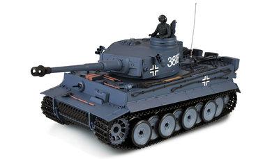 RC tank  advanced line IR/BB Tiger 1 2.4GHZ  Control edition V6.0