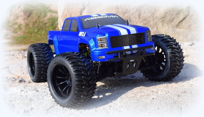 Absima AMT3.4 BL Brushless 1:10 RC auto Elektro Monstertruck 4WD RTR 2.4 GHz