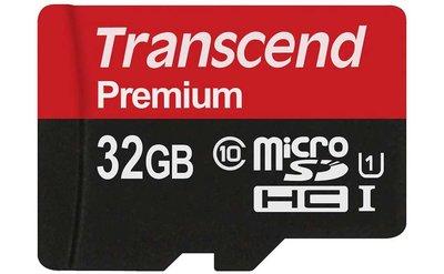 Transcend TS32GUSDCU1 Class 10 Premium microSDHC 32GB geheugenkaart UHS-I