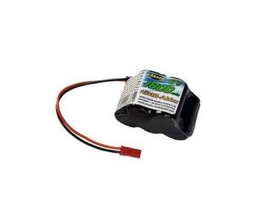 Carson 6V 1800mAh NiMh Receiver battery pack (Hump pack) JST plug
